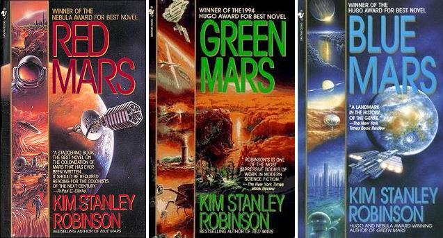 Kim Stanley Robinson's Mars trilogy