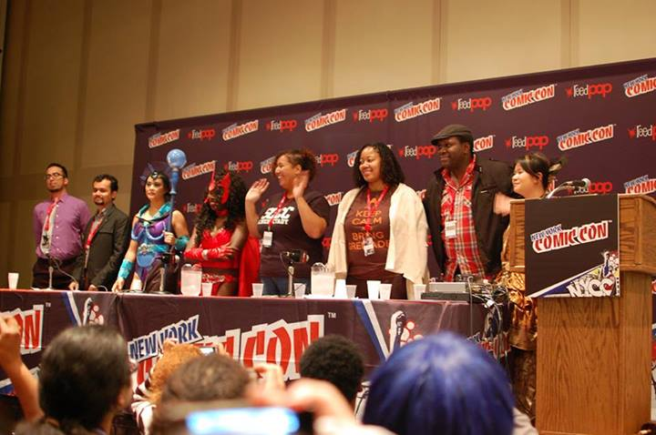 Video of Geeks of Color Assemble NYCC Panel Video
