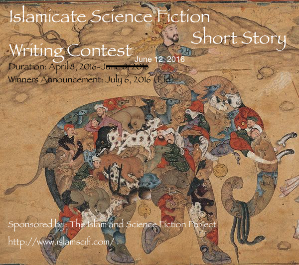 Islamicate Science Fiction story Deadline Extended